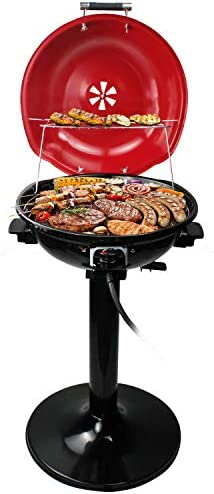 Electric BBQ Grill Techwood 15 Serving Indoor Outdoor Electric Grill for Indoor Outdoor Use product image