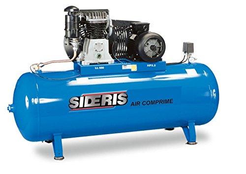 Sideris Abac - Compresseur d'air à cuve, 500L 5,5CH 400V