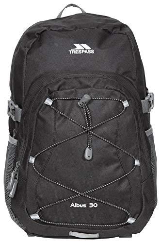 Trespass Albus Backpack/ Rucksack - Black, 30 Litres