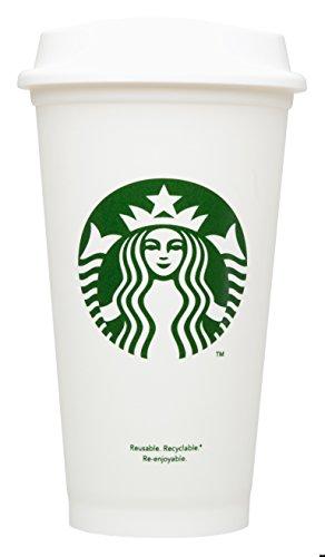 Starbucks Wiederverwendbare Thermobecher To Go Kaffeetasse (Grande 473 ml), 4 Stück