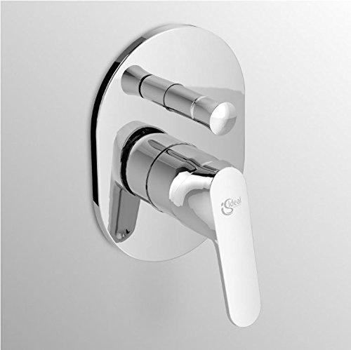 Ideal Standard A5961AA Ceraplan II Miscelatore monocomando incasso vasca/doccia con deviatore, cromato