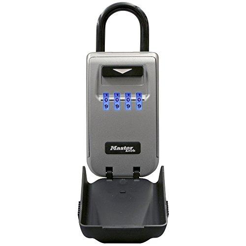 Master Lock 5424d LGT botón Lock caja