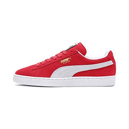 Puma Suede Classic+, Sneaker Unisex – Adulto, Rosso (Team Regal Red/White), 43 EU