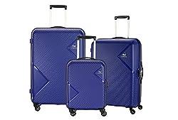 American Tourister Polypropylene Small - 55 cm, Medium - 68 cm & Large - 79 cm Hard Trolley Bag (Set of 3) (ZKK-ALL_Coral Blue),SAMSONITE SOUTH ASIA PVT LTD