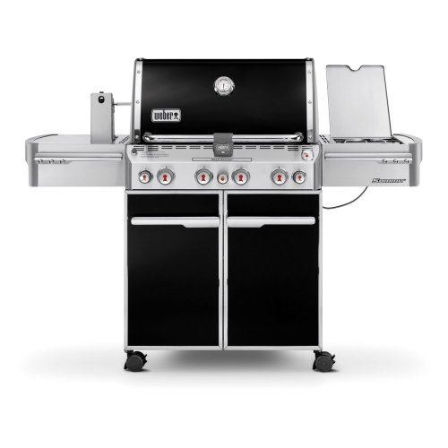 Weber Summit 7171001 E-470 580-Square-Inch 48,800-BTU Liquid-Propane G, Black