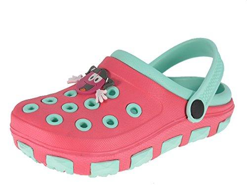 Beppi Mädchen Badeschuhe Hausschuhe Clogs Rosa 31