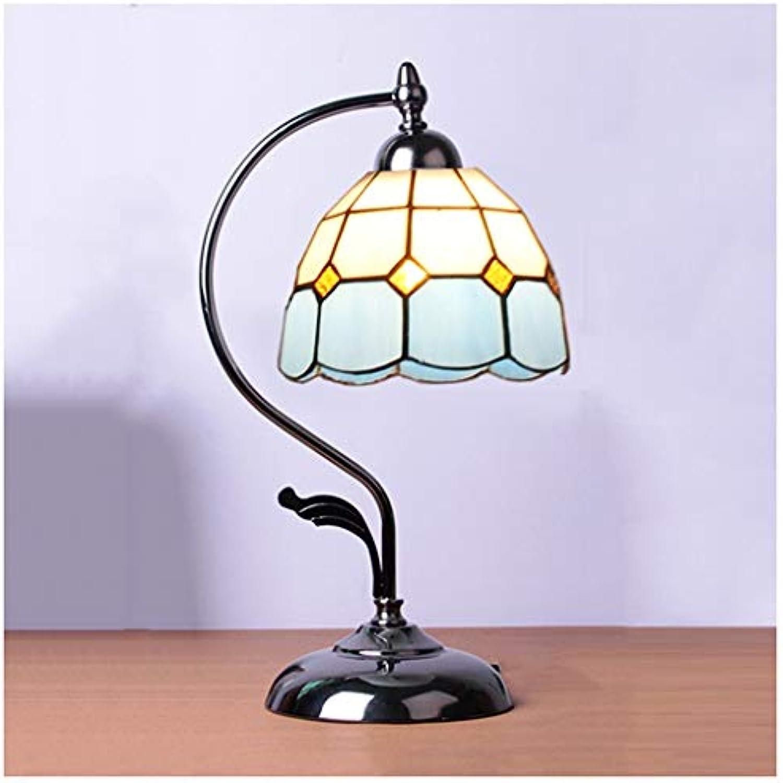CJW Mediterrane Tischlampe - romantisch und warm 16 cm (Farbe   schwarz)