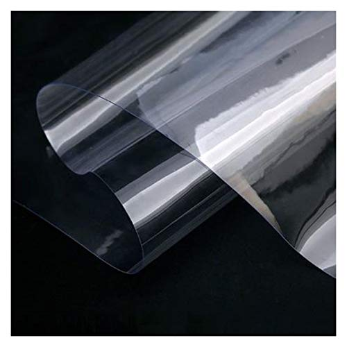 GHHZZQ Lona alquitranada Impermeable Plástico PVC Lona Portada con Ojales Impermeable Balcón Plantas Abrigo Camping Cubiertas Reforzado, 650g/m², 29 Tamaños (Color : Clear, Size : 2.9x2.9m)