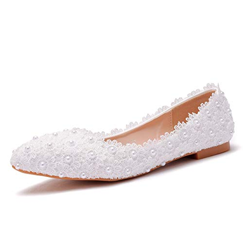 Top 10 best selling list for crystal bridal flat shoes