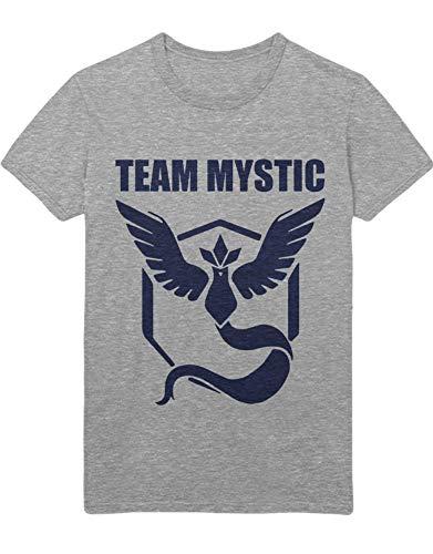 HYPSHRT T-Shirt Poke Team Mystic C123136 Grau L