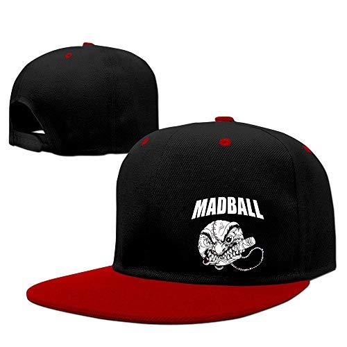 LIU888888 Hodgefelix Madball Hardcore Lives, Ball of Destruction Strapback Hats Red One Size,Hüte, Mützen & Caps