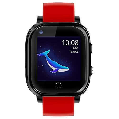Infinite Watch – iKids Rot – Smartwatch für Kinder – 4G – Integriertes Thermometer