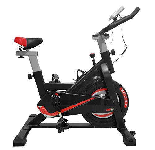 Dolphy Exercise Spinning Bike, Indoor Cycling Bike for Home Gym