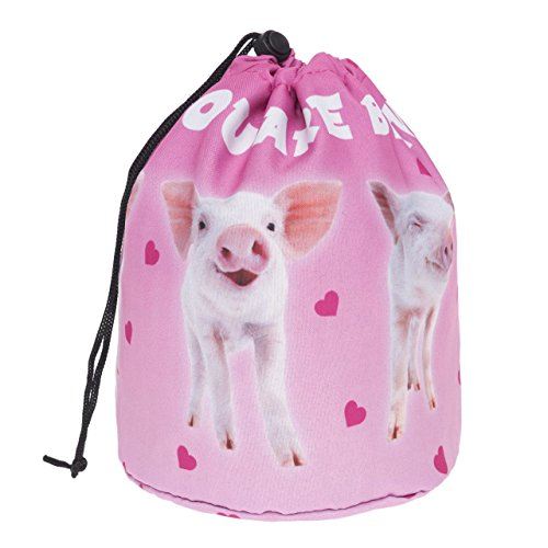 Grand Sac Ronde pour Les cosmétiques Voyage Beautiful Pigs [034]