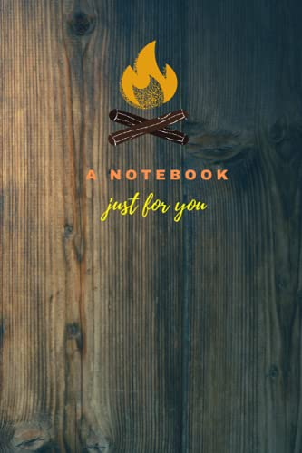 A Notebook just for you: Customised lined notebook (120 pages, 6 x 9 dimensions) for kids, adults, mothers and office workers. Also can be used as perfect gift for nature lovers and trekking enthusiasts.