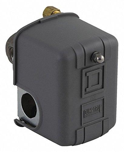 Air Compressor Pressure Switch; Range: 20 to 100 psi, Port Type: (4) Port, 1/4