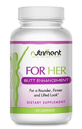 for Her Butt- Buttocks Enhancement Pills- Get a Bigger Booty Fast- All Natural Herbal Female Formula- 90 Caps