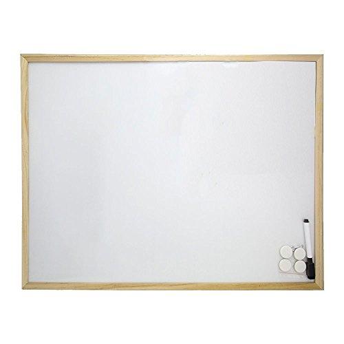 Oryx 3081160 Pizarra Magnetica Blanca 45x60 cm. Con Rotulador y 4 Imánes