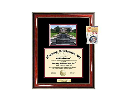Diploma Frame University Of Maryland College Park Graduation Gift Idea Umd Engraved Picture Frames Engraving Degree Bachelor Masters Mba Phd Doctorate School Amazon Com