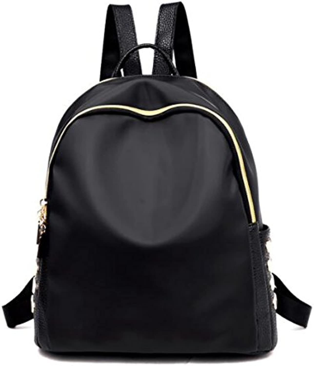 Fashion Backpack,Casual Daypack,Unisex RucksackHype Black Badge Backpack,Laptop Backpack, multicompartment backpack, Classic Backpack, Women Lightweight Backpack, pure black