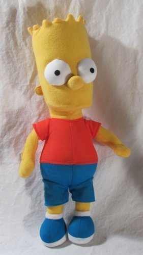 The Simpsons - Merchandise - Plush Doll (Bart - Red Shirt, Blue Pants) (Size: 12' in height)