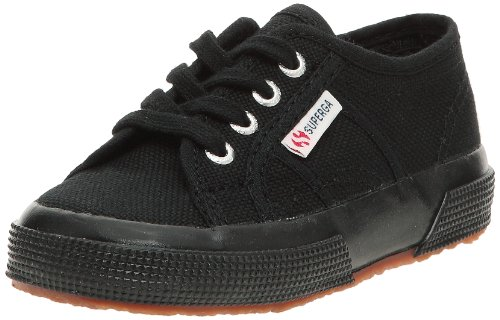 Superga 2750-jcot Classic, Zapatillas de Gimnasia Infatil, Negro (Full Black), 23