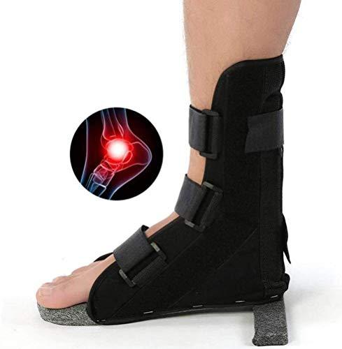 TINWG Verstellbare Knöchelstütze Fallfuß Orthese for Männer Frauen Behandlung von Fersensporn Achillessehnen Hängefuß for Verstauchungen, Sore oder Weak Ankles 62 (Size : L)