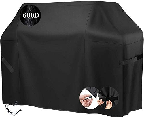 Indeed BUY Gas Grill Cover Waterproof Barbecue Grill Cover 58 inch 3 4 Burner 600D PU Heavy product image