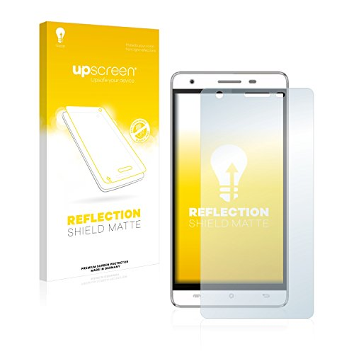 upscreen Entspiegelungs-Schutzfolie kompatibel mit Cubot H2 – Anti-Reflex Bildschirmschutz-Folie Matt