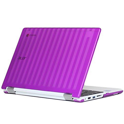 """MCover - Carcasa rígida para Acer Chromebook R11 CB5-132T / C738T (11,6""""), Color Morado (no Compatible con Acer C720, C730, C740, CB3-111, CB3-131 Series)"""