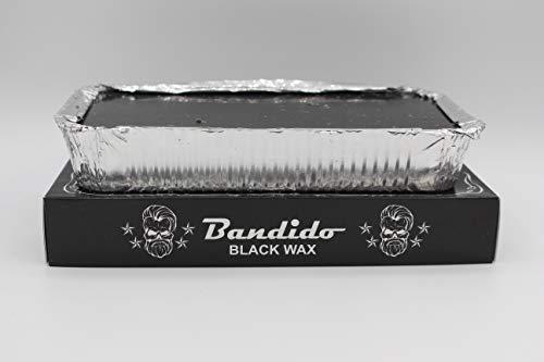 Bandido Agda Heisswachs Warmwachs Haarentfernung Wax (Black,Titanyum,Naturel) 500gr Körper Gesicht Damen und Herren (1x, Black)