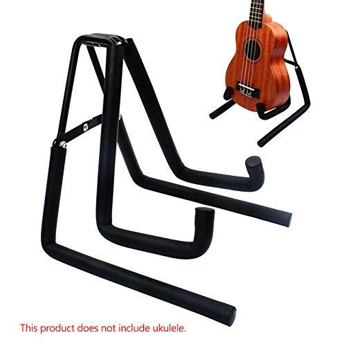 BEESCLOVER Portable Foldable Bracket Stand for U-kuleles Mandolins Violins Guitar for Electronic Equipment