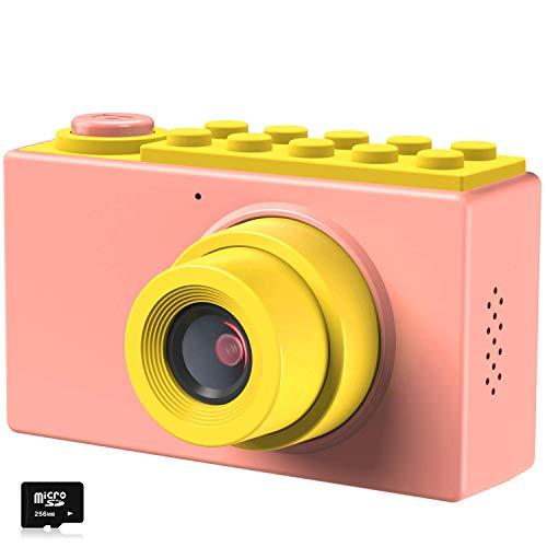 Kriogor Cámara de Fotos para Niños, Juguete Digital Cámara 4 Zoom Digital 2 Pulgadas 8MP 1080P Niño Niña Cumpleaños (Tarjeta TF Incluida)