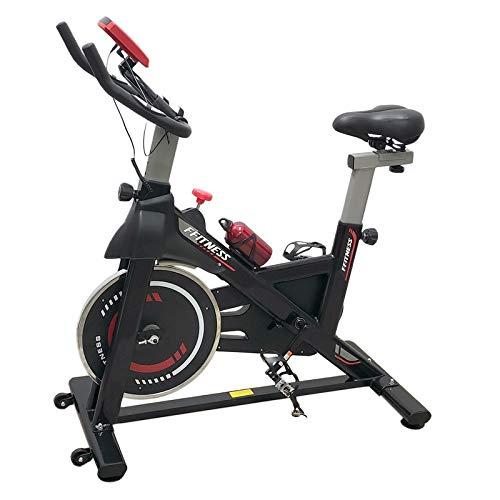 FFitness Cyclette Spin Bike Fit da Interno con Porta Cellulare, Resistenza Regolabile, Cardio e Volano 6kg