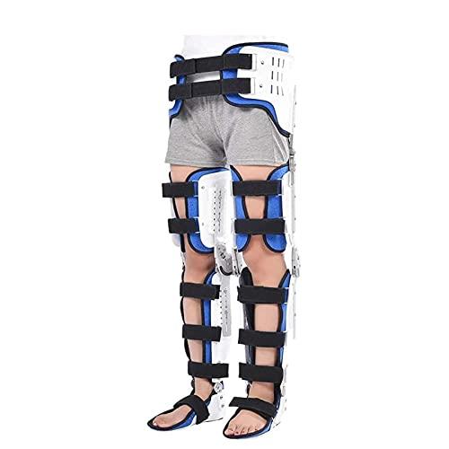 Rodillera ROM con bisagras, Rodillera postoperatoria para estabilización de recuperación, Lesiones de LCA, MCL y PCL, Estabilizador de soporte ortopédico después de la cirugía, Ortesis de tobi