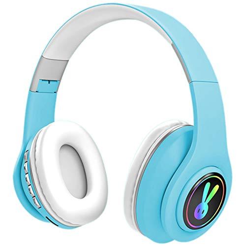 YWZQ Faltbares Ohr-Leuchtkopf-montiertes drahtloses Bluetooth-Headset mit mikrofon Freisprecheinrichtung...