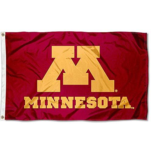 Minnesota Gophers UM University Large College Flag