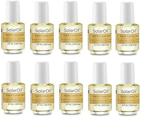 CND Cosmetics Travel Sized Solar Oil Cuticle Conditioner 3.7ml X 20 BOTTLES (20 X BOTTLES)