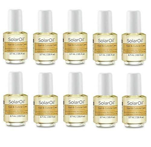 CND cosmétiques de voyage de taille solaire Huile cuticule Après-shampoing 3.7 ml X 20 flacons
