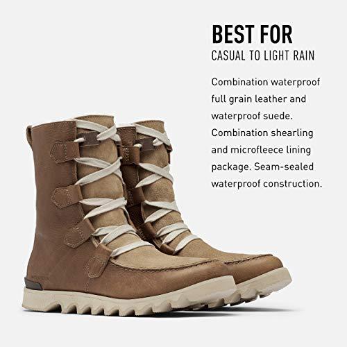 Sorel Men's Kezar Strom WP Boot - Waterproof - Khaki II - Size 11.5