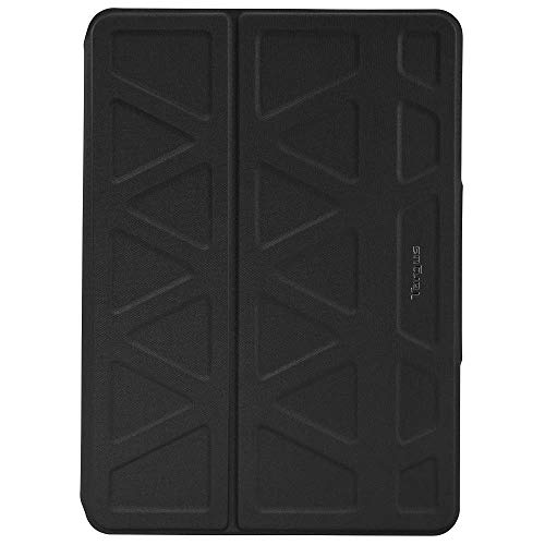 Targus 3D Apple iPad Pro (9-7-Inch) Tablet Case Cover Drop-Safe Protection, Hands Free Stand Folio Case, Strong Secure Durable Wrap Closure, Water-resistant, Anti-Scratch - Black (THZ635GL)