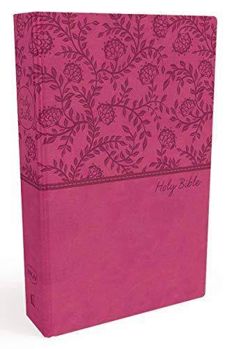 NKJV, Value Thinline Bible, Leathersoft, Pink, Red Letter, Comfort Print: Holy Bible, New King James Version