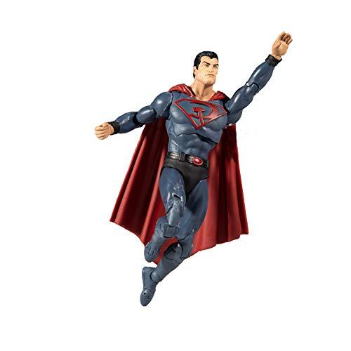 McFarlane - DC Multiverse 7 Figuren - Red Son Superman