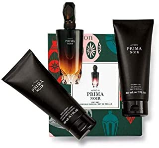 Avon Prima Noir Boxed 3 Piece Gift Set