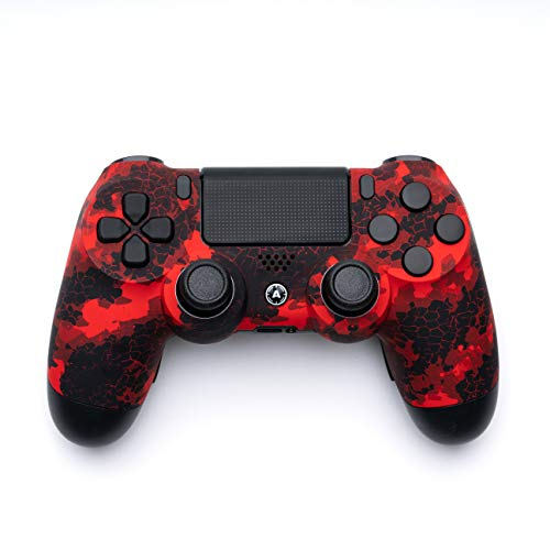 AimControllers PS4 Custom Wireless Controller, PlayStation 4 Personalized Gamepad with 4 Paddles [video game]