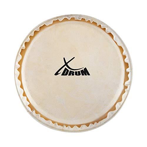 "XDrum Bongo Fell 7"" - Natur-Fell für Bongo-Trommel - Durchmesser: 7 Zoll (ca. 178 mm) - Natur"