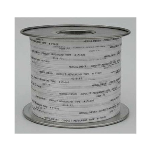 """Herculine HLP2500W 3/4"""" x 3000 ft. Premium Pull Tape, Woven Polyester, 2500 Lbs."""