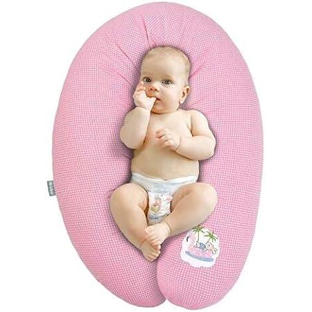 Qualità bambino cuscino gravidanza di cura di Sei Design 170 x 30cm, riempimento costituito da fiocchi di fibre - molto morbido e confortevole. Coprire con zip e ricamo di alta qualità.