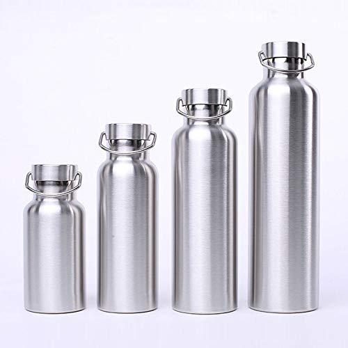 Hervidor de acero inoxidable de doble capa de vacío de gran diámetro termo taza de agua deportiva al aire libre de la taza multi-específica especificación opcional