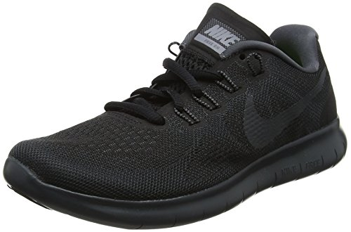 Nike Free Rn 2017, Scarpe da Trail Running Donna, Nero (Black/Anthracite/Dark Grey/Cool Grey 003), 36.5 EU
